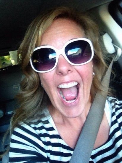 This was my super-duper happy face as I left day one of the 2014-2015 school year!